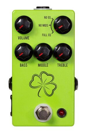 The Clover preamp effectpedaal