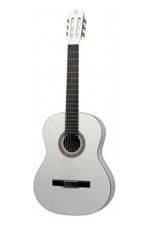 001 4/4-model klassieke gitaar wit