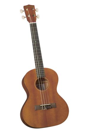 DU-200T deluxe natural mahogany tenor ukulele