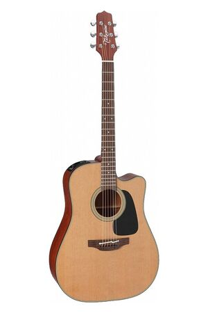 P1DC elektrisch-akoestische western gitaar naturel