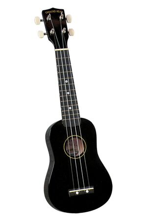 DU-100 Rainbow sopraan ukulele zwart