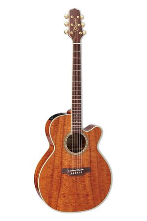 EF508KC Figured Hawaiian Koa met koffer
