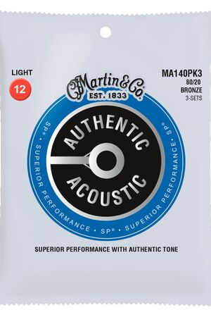 MA140PK3 Authentic SP 80/20 Bronze 3-Pack