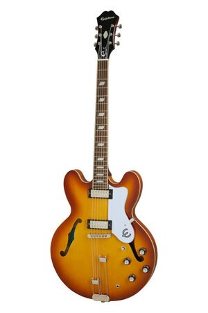 Riviera Royal Tan semi-akoestische gitaar