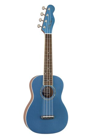California Coast Zuma concert ukelele Lake Placid Blue