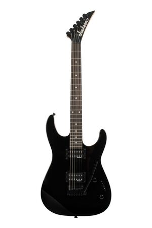 JS11 Dinky Gloss Black elektrische gitaar