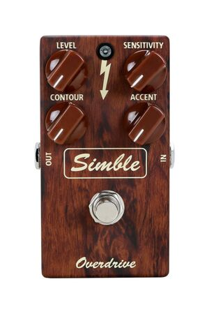 Simble Overdrive Factory effectpedaal