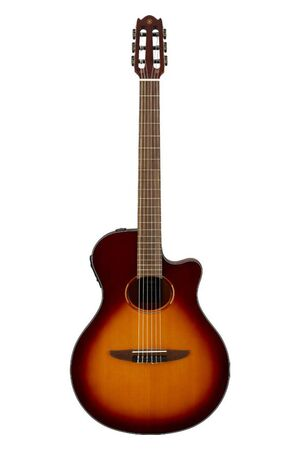NTX1 Brown Sunburst elektrisch-akoestische klassieke gitaar