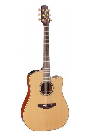 P3DC elektrisch-akoestische western gitaar naturel