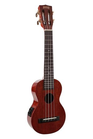 MJ1/CSVTVNA Java Series sopraan E/A ukulele long neck