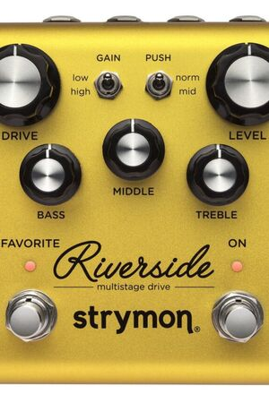 Riverside multistage drive effectpedaal