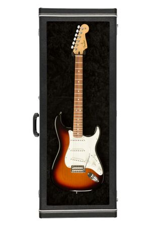 Guitar Display Case Black