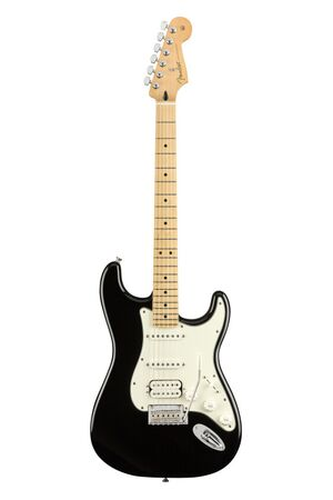 Player Stratocaster HSS Black MN