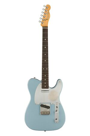 Chrissie Hynde Telecaster Ice Blue Metallic RW elektrische gitaar met koffer