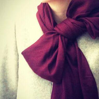 DIY: Kerstige sjaal