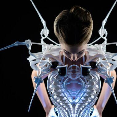 Slimme couture: de Spider Dress 2.0