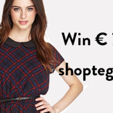 WINNEN: shoptegoed t.w.v. € 75,-!