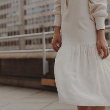 De geplooide jurk: deze jurk is de nieuwe Instagramhit