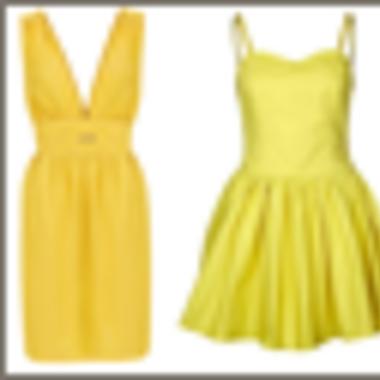 Trend report: Gele kleedjes