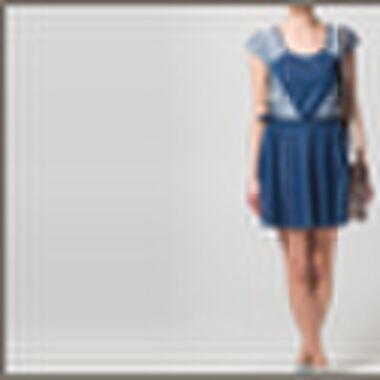 How to wear: denim kleedjes