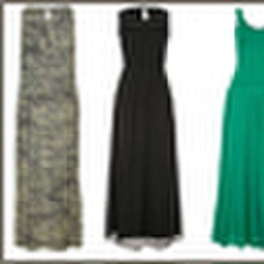 Shopping: maxi jurken