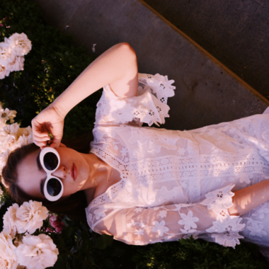 Paarse jurken: de nieuwe it-kleur aankomend seizoen