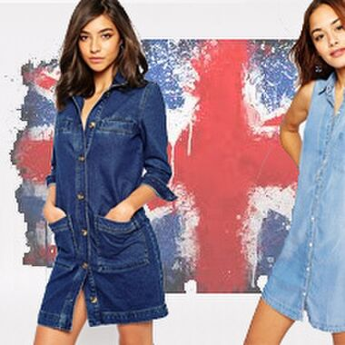 The Denim Dress Edit: find your perfect fit